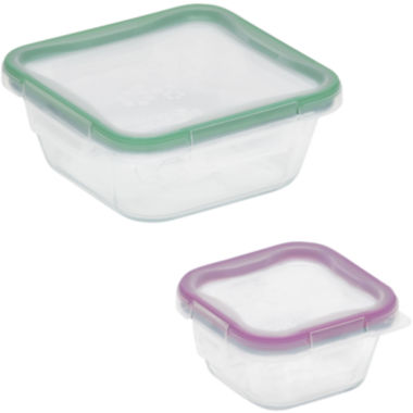 jcpenney.com | Snapware® Total Solution 4-pc. Square Glass Food Storage Set