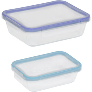 jcpenney.com | Snapware® Total Solution 4-pc. Rectangular Glass Food Storage Set