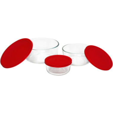 jcpenney.com | Pyrex® Value Pack 6-pc. Round Food Storage Set