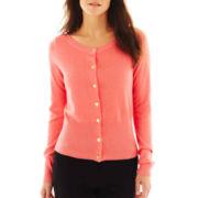 Worthington® Boatneck Cardigan Sweater