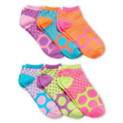 6-pk. Polka Dot Low-Cut Socks