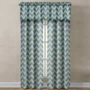 Richloom Rhodes Chevron Rod-Pocket Window Treatments