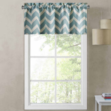 jcpenney.com | Richloom Rhodes Chevron Rod-Pocket Tailored Valance