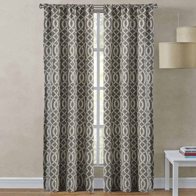 Richloom Sutton 2-Pack Rod-Pocket Curtain Panels