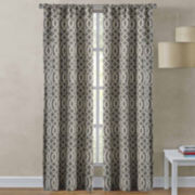 Richloom Sutton 2-Pack Rod-Pocket Curtain Panels