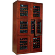 Wine Enthusiast® Trilogy Dual Wine Cellar