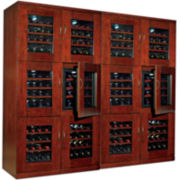 Wine Enthusiast® Trilogy Quad Wine Cellar
