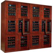 Wine Enthusiast® Trilogy Quad Wine Cellar