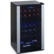 Wine Enthusiast® 29-Bottle Evolution Series Dual-Zone Wine Refrigerator