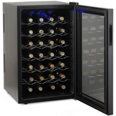 jcpenney.com | Wine Enthusiast® Silent 28-Bottle Wine Cooler