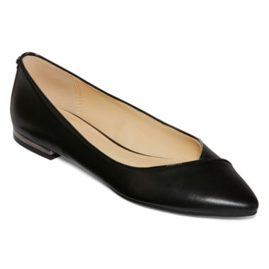 jcpenney.com | Liz Claiborne® Aba Pointed Toe Ballet Flats