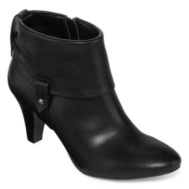 jcpenney.com | east 5th® Quann Heeled Ankle Booties - Wide