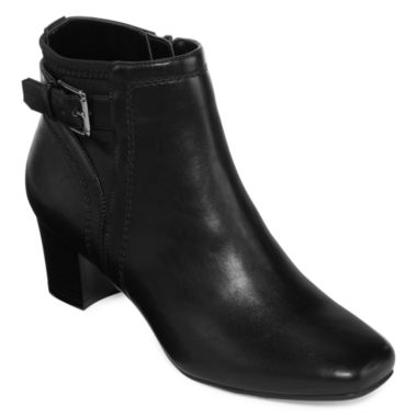 jcpenney.com | east 5th® Rico Heeled Ankle Booties - Wide
