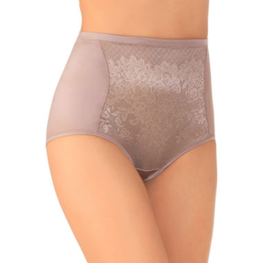 jcpenney.com | Vanity Fair® Body Caress Smoothing Comfort Lace Brief