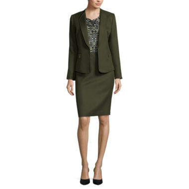 jcpenney.com | Chelsea Rose Sleeveless Printed Blouse or Jacket with Zippers or Textured Skirt
