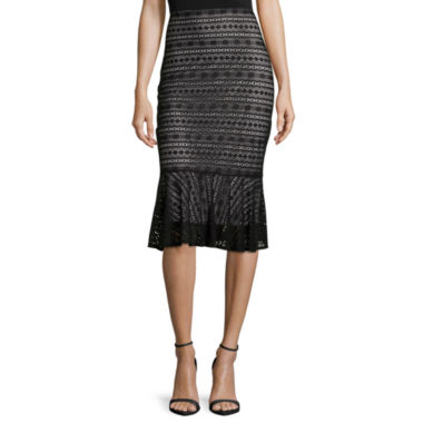 jcpenney.com | Worthington® Flippy Lace Skirt - Tall