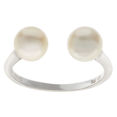jcpenney.com | 6.5-7Mm Cultured Freshwater Pearl Sterling Silver Ring