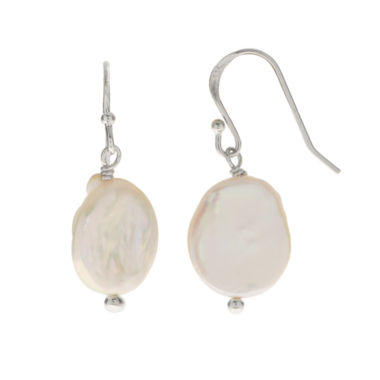 jcpenney.com | Cultured Freshwater Coin Pearl Sterling Silver Earrings