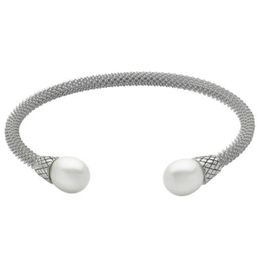 jcpenney.com | 9-9.5Mm Cultured Freshwater Pearl Sterling Silver Cuff Bracelet