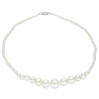 jcpenney.com | 3-12Mm Cultured Freshwater Pearl Sterling Silver Graduated Necklace