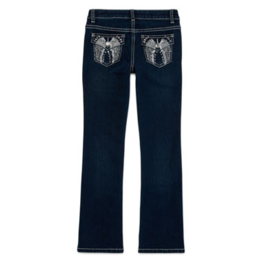 jcpenney.com | Arizona Embellished-Back-Pocket Bootcut Jeans - Girls 7-16 and Plus