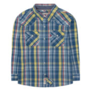 Levi's® Long-Sleeve Barstow West Plaid Shirt - Boys 8-20