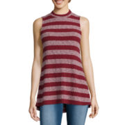 Freshman Ribbed Knit Swing Tank Top