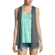 Tank Top and Vest Set