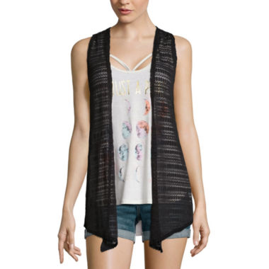jcpenney.com | Self Esteem® Layered Tank Top and Vest