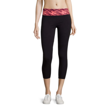 jcpenney.com | City Streets® Yoga Cropped Leggings - Juniors