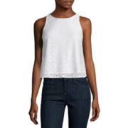 Arizona Sleeveless Lace Top or Twill Cargo Jeggings