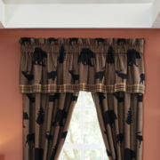 Croscill Classics® Shadow Bears Rod-Pocket Lined Valance
