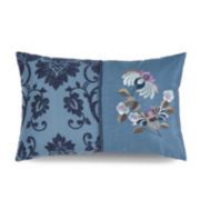 WestPoint Home Downton Abbey Aristocrat Pieced and Embroidered Decorative Pillow