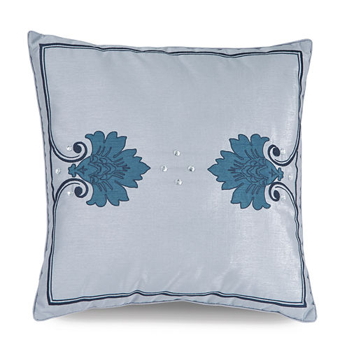 WestPoint Home Downton Abbey Aristocrat Fog Closure Decorative Pillow