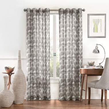 jcpenney.com | Eclipse Amadora Rod-Pocket Sheer Curtain Panel
