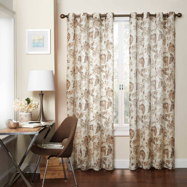 jcpenney.com | Eclipse Wythe Rod-Pocket Sheer Curtain Panel