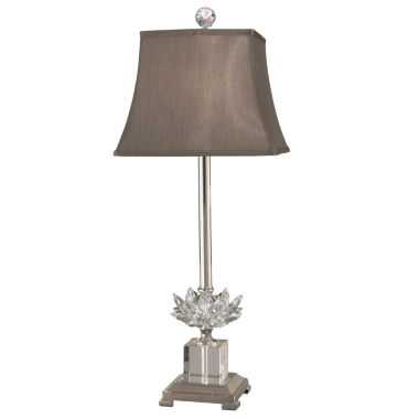 jcpenney.com | Dale Tiffany™ Lucinda Crystal Table Lamp