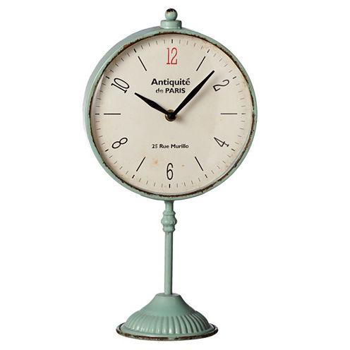 Aqua Clock on Stand