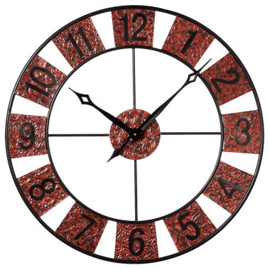 jcpenney.com | Antique Red Wall Clock