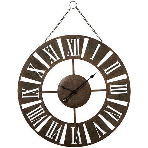 Hanging Roman Numeral Wall Clock