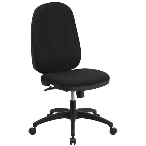 High Back Black Task Office Chair