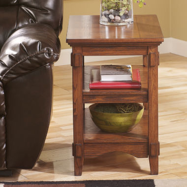 jcpenney.com | Signature Design by Ashley® Cross Island Chairside Table
