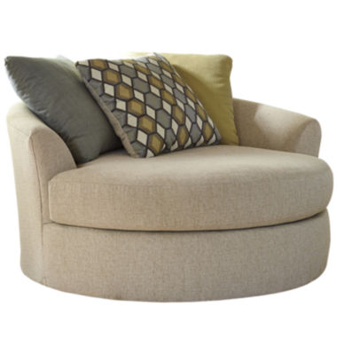 jcpenney.com | Signature Design by Ashley® Casheral Oversized Swivel Accent Chair