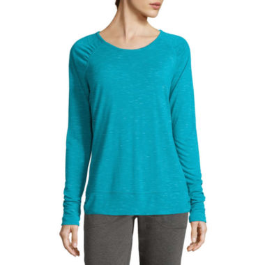 jcpenney.com | Made for Life™ Long-Sleeve Tee