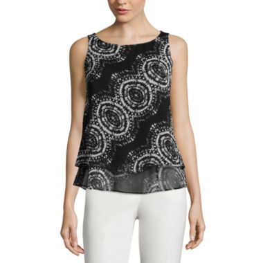 jcpenney.com | Worthington® Double-Layer Tank Top - Tall