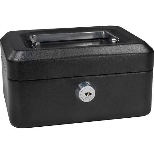 "Barska® 6"" Cash Box with Key Lock"