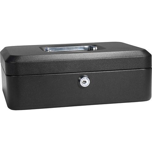 "Barska® 10"" Cash Box with Key Lock"