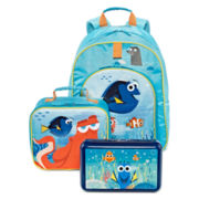 Disney® Dory Backpack, Lunch Tote or Pencil Box