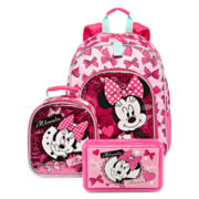 Disney® Minnie Backpack, Lunch Tote or Pencil Box