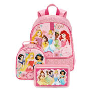 Disney® Princess Backpack, Lunch Tote or Pencil Box